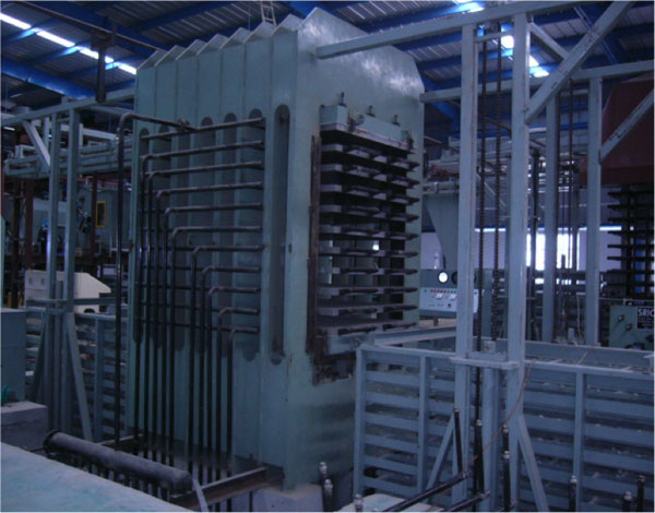 Particle board press manufacturers and suppliers